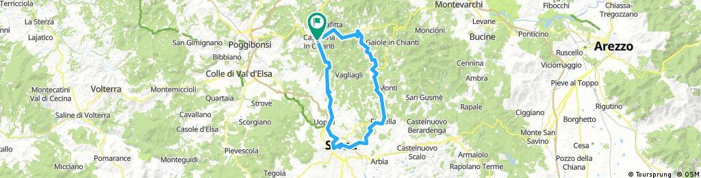 anello Siena-Chianti (da Castellina)