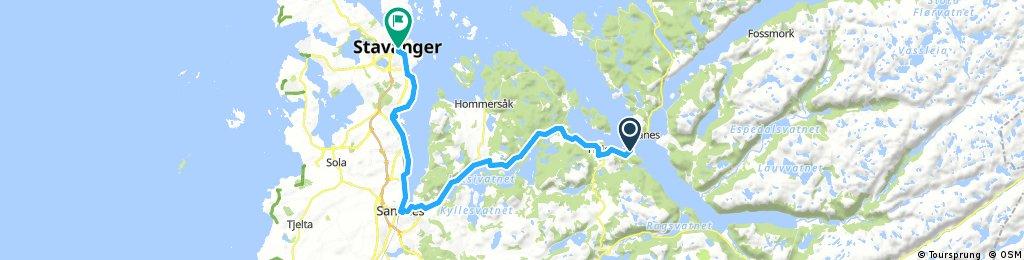 2. Lauvik - Stavanger ferry