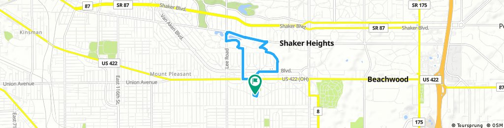 Quick ride through Shaker Heights