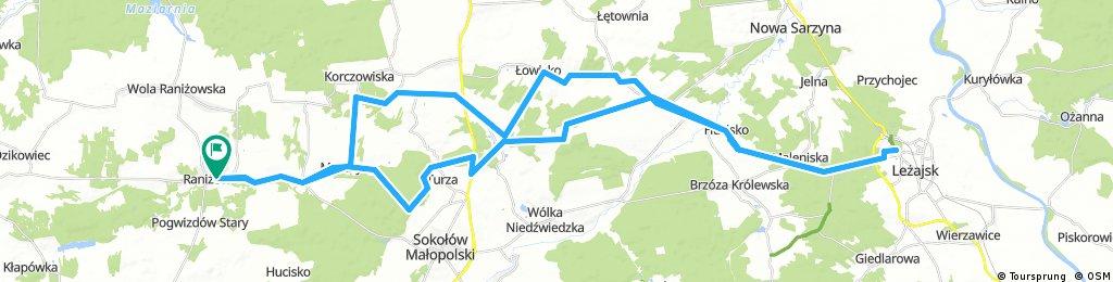 Pielgrzymka rowerowa do Leżajska