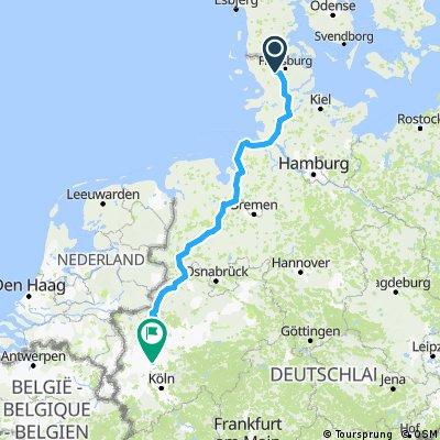 Großenwiehe nach Düsseldorf