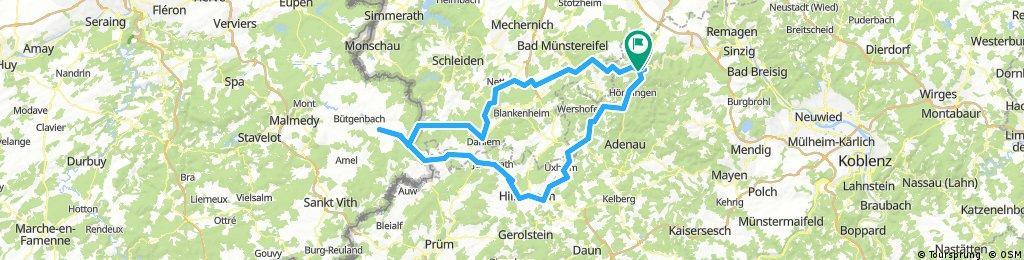 Altenahr-Büllingen-Altenahr