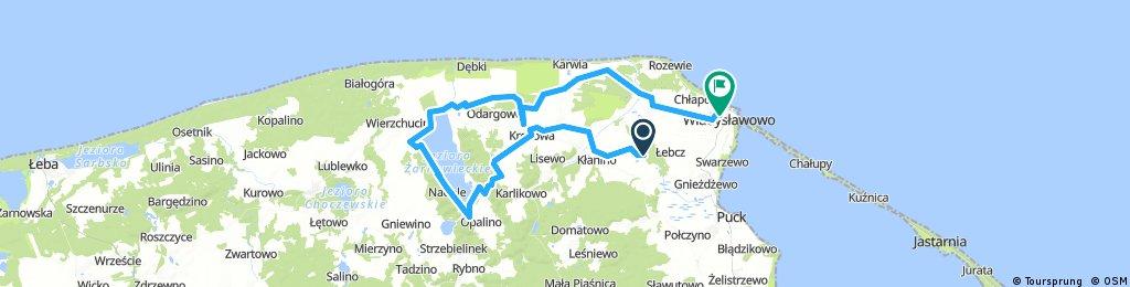 Wadislawowo k Žarnowieckie jezero 3. července 10:59