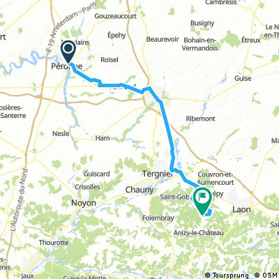 Day 5: Peronne to Suzy