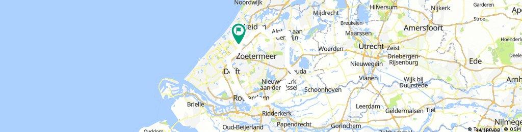 Rondje langs oevers van Rijn, Schie, Maas, IJsel en Gouwe