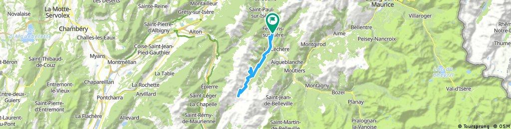 Col de la Madeleine and Le Logis des Fées
