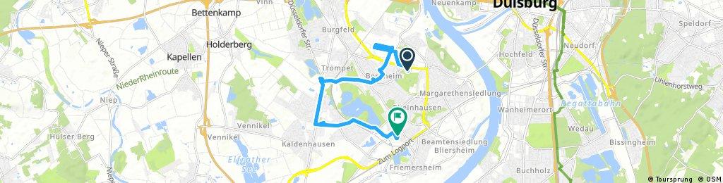 Runde Durch Rheinhausen Und Bergheim