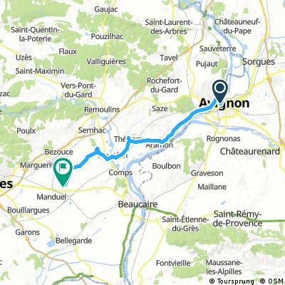 Avignon - Redessan