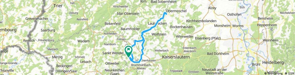 Brücken Kusel Meisenheim Altenglan Glan-Münchweiler Elschbach