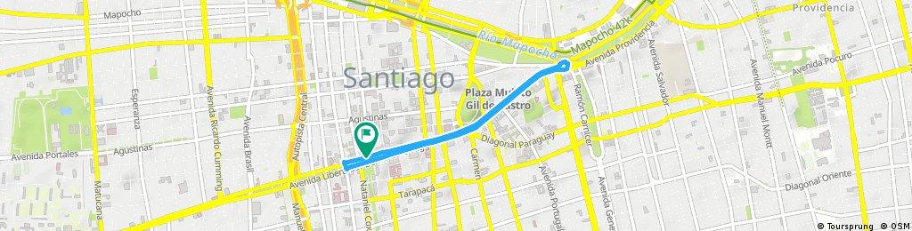 Circuito Contrareloj y Gran Fondo JJSS Santiago 2017