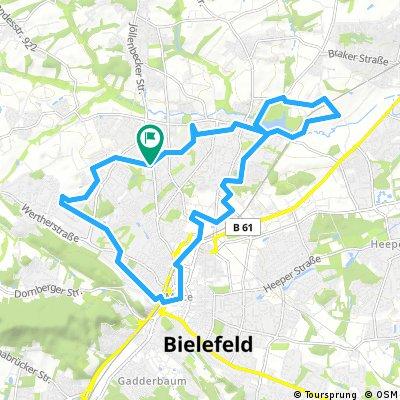 Bielefeld: Erfahrung / Umfahrung