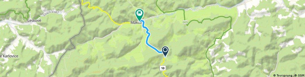Short ride through District of Čadca