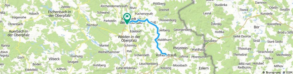 Bockl-Radweg-Tour Altenstadt-Vohenstrauß