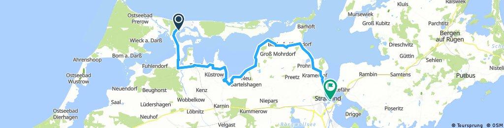 LS7 Lengthy bike tour through Stralsund