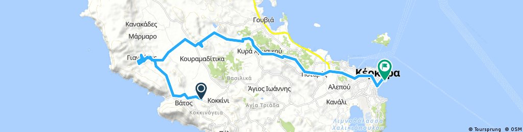 ride from Parelia to (null)