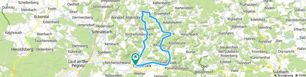Radelparadies Nürnberger Land: Tour 7