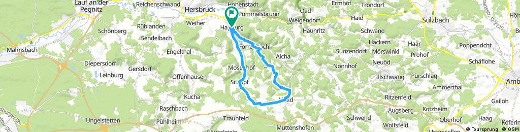 Radelparadies Nürnberger Land: Tour 9
