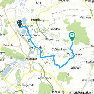 Schladen - Osterwiek - Fallsteinklause