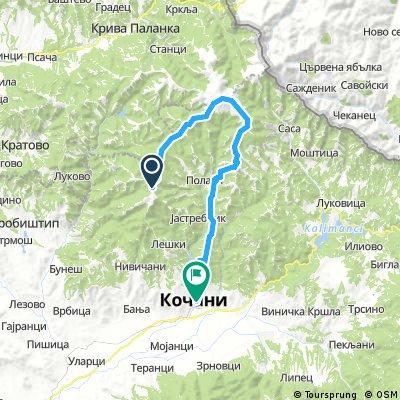 Carev vrv - Ponikva   Bikemap - Your bike routes