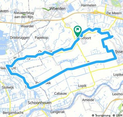 2017 07 06 Willeskop route