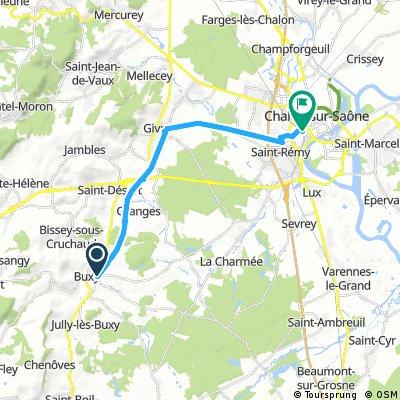 Buxy - gare de Chalon-sur-Saône