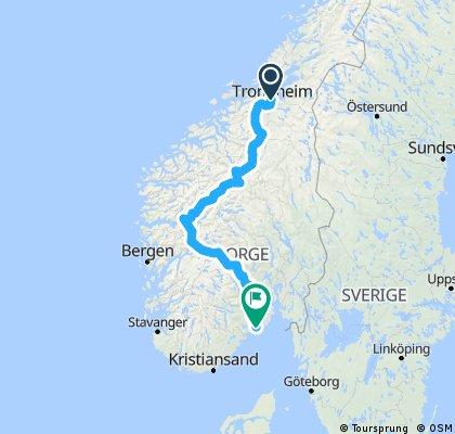 Trondheim - Langesund