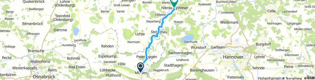 Minden - Nienburg