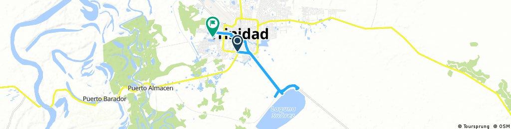 ride through Trinidad