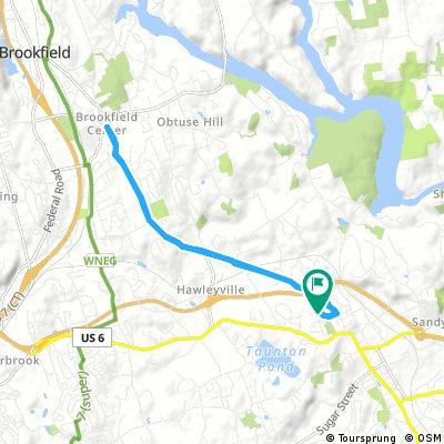 ride through Newtown