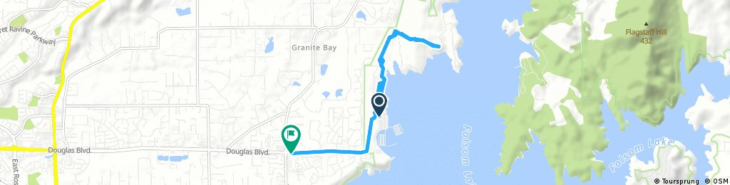 Brief bike tour through Granite Bay
