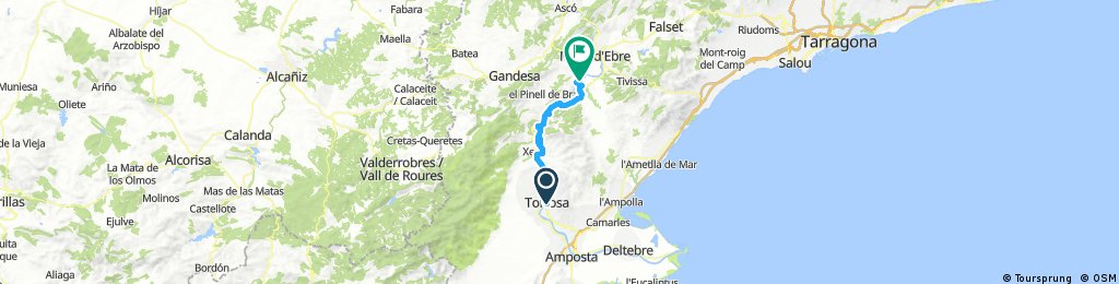 Ebre-Maestrat 1: Tortosa-Miravet