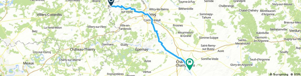 Day 7: Fismes to Sarry