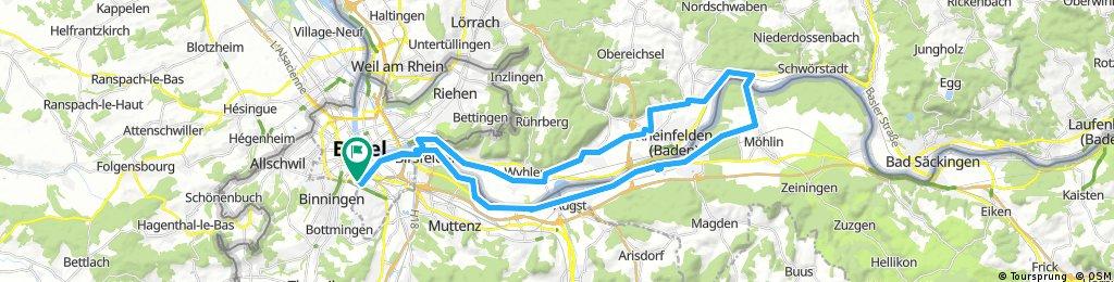 20170707 Grenzach-Rheinfelden-Möhlin-Rheinfelden-Augst