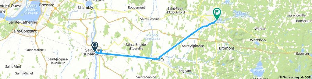 J2 - St-Jean-sur-Richelieu - Granby