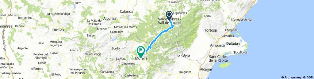 Ebre-Maestrat 3: Valderrobres-Morella