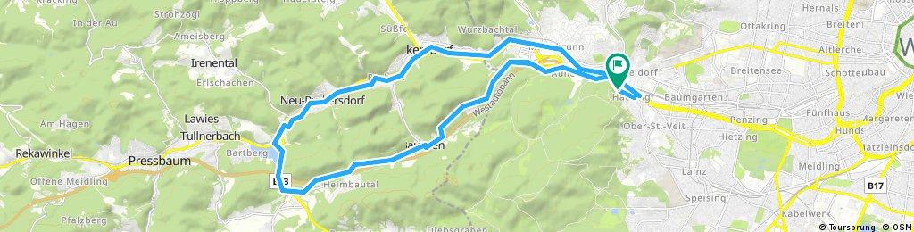 Wiener Waldsee round trip