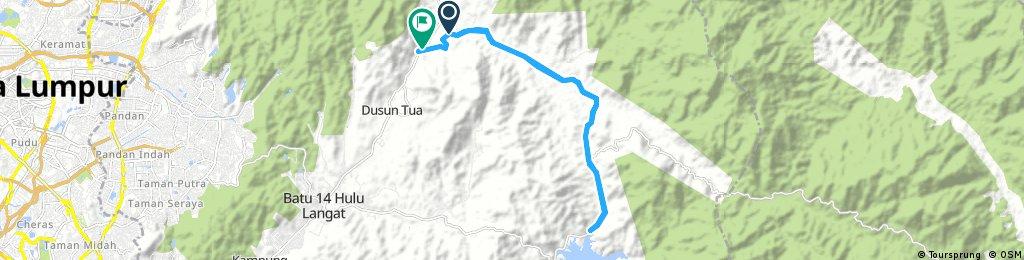 Ride through Dusun Tua