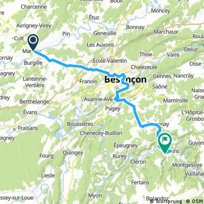 Day 12: Marnay to Ornans