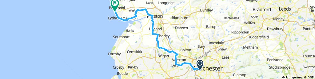 manchester to blackpool 2017