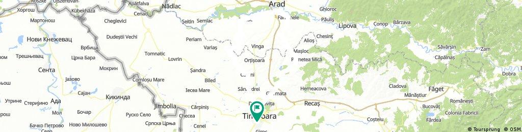 Timișoara - Arad - Timișoara _ Valeriu 8 iulie, 05:48