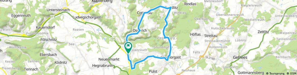 Radrunde um Wirsberg