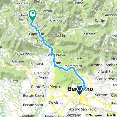 Val Brunone sorgente sulfurea (solo andata)