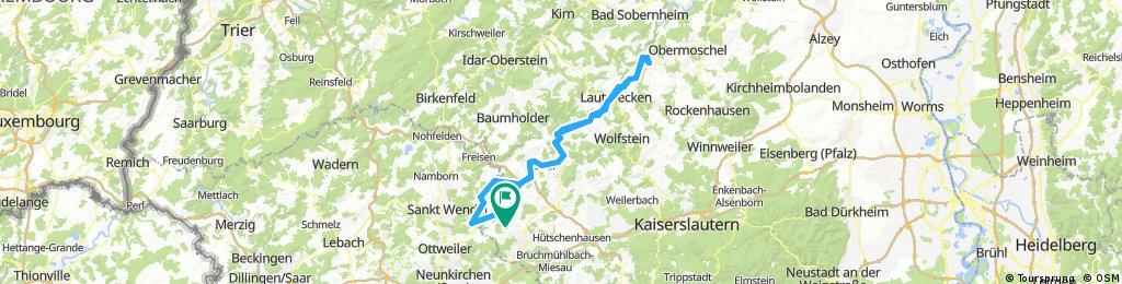 Krottelbach Kusel Lauterecken Meisenheim Osterbrücken Werschweiler