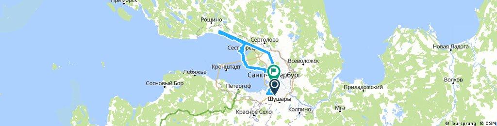 Московская - Зеленогорск