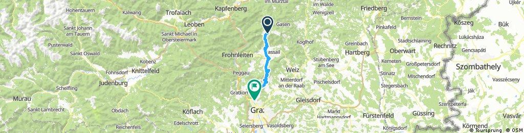 Teichalm nach Andritz