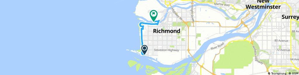 ride through Richmond