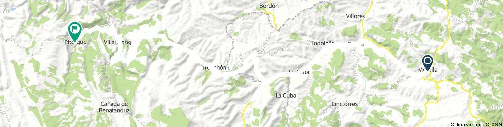 Ebre-Maestrat 4: Morella-Pitarque
