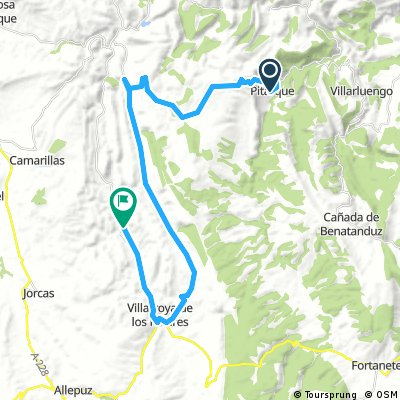 Ebre-Maestrat 5: Pitarque-Miravete de la Sierra