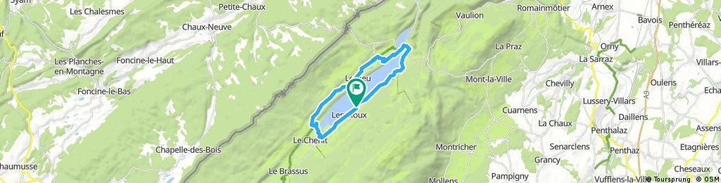 Tour Du Lac De Joux J & G