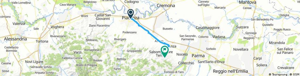 Day 22: Piacenza to Salsomaggiore Terme